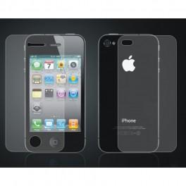 Скрийн протектор за iPhone 4/4S(екран и гръб)