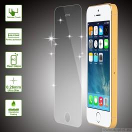 Tempered Glass Protector - стъклено защитно покритие за дисплея на iPhone 5 5S 5C