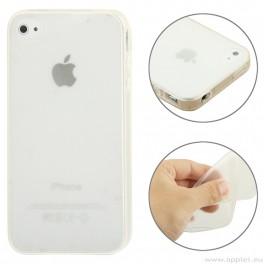 Защитен калъф за iPhone 4/4S - Бял