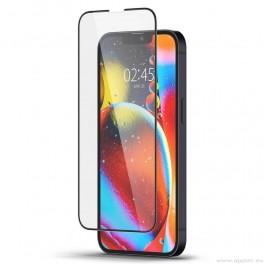 Spigen Glass Slim Full Cover Tempered Glass- стъклено защитно покритие за дисплея на iPhone 13 Pro Max